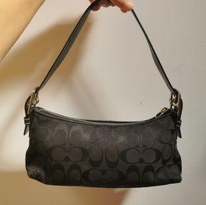 Coach small black bag
